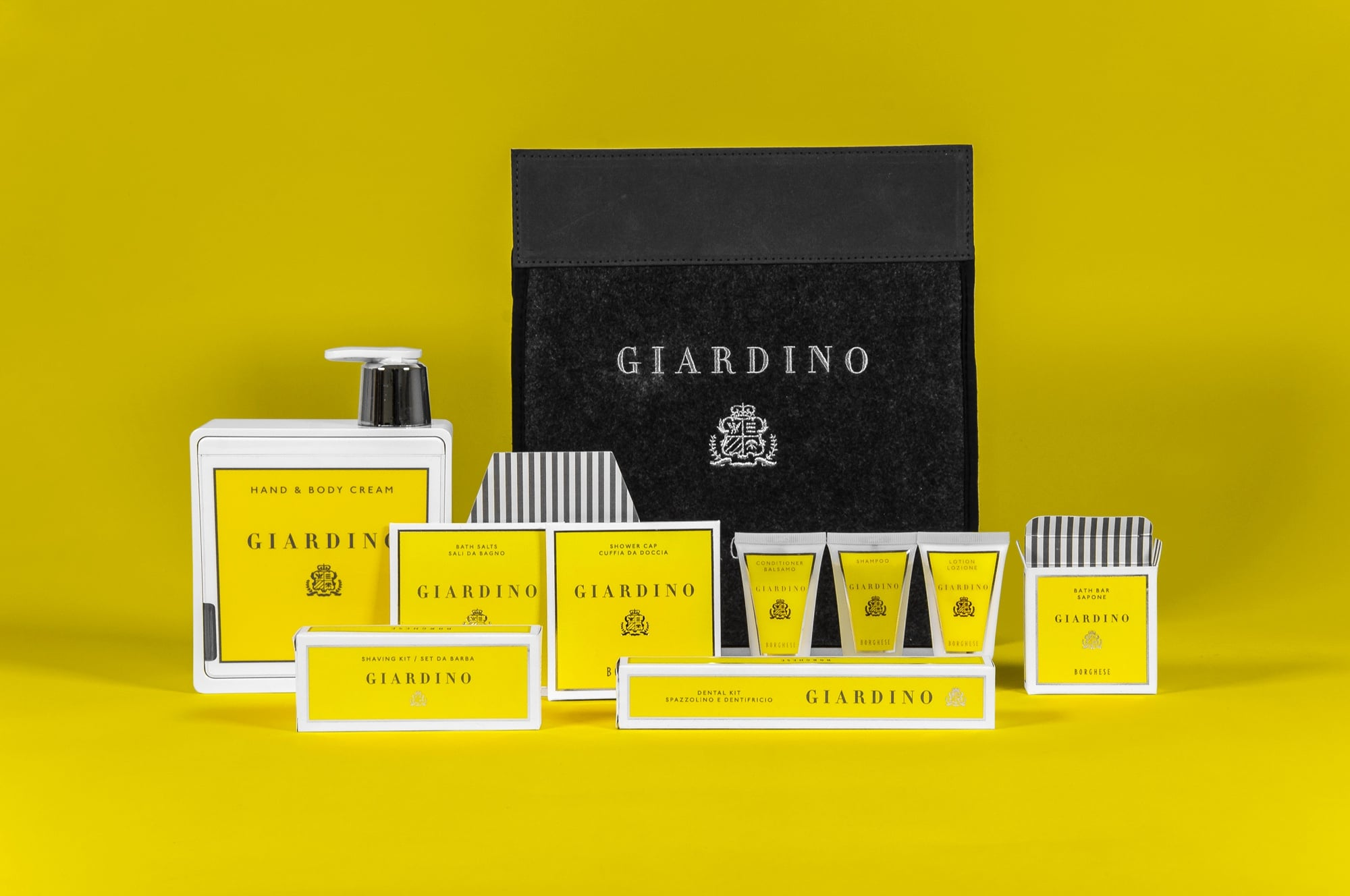 Amenities Da Bagno packaging design agency for giardino by borghese | carter hales